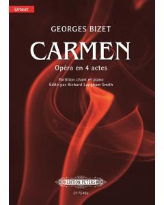 Bizet Carme Vocal Score