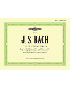 Bach, J.S.: Three Popular Pieces (Arranged for Piano Duet)