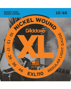 D'addario EXL110 - Guitarstrenge til El-Guitar (sæt)
