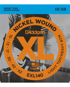 D'addario EXL140 Light Top / Heavy Bottom - Guitarstrenge til El-Guitar (sæt)