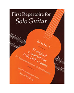 First Repertoire for Solo Guitar