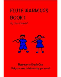 Flute Warm Ups - Book 1 (Joss Campbell)