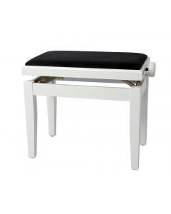 Gewa Klaverbænk DELUXE (High Gloss Hvid)