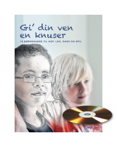 Gi' din ven en knuser (Michael Madsen) (Sangbog m. CD)
