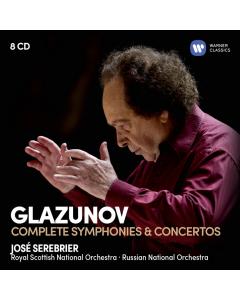 Glazunov: Complete Symphonies & Concertos (8CD-BOX)