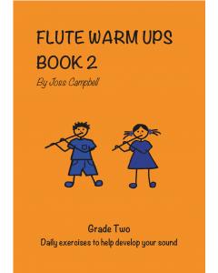 Flute Warm Ups - Book 2 (Joss Campbell)