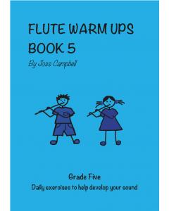 Flute Warm Ups - Book 5 (Joss Campbell)