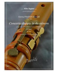 Händel, G.F.: Concerto doppio in do minore, HWV deest (Bassoon, Oboe (Flute or Violin), Strings & Basso Continuo) (Score and Parts)
