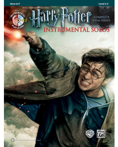 Harry Potter Instrumental Solos - Selections from the Complete Film Series (Horn in F) (incl. CD)