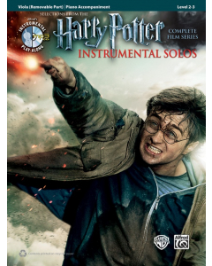 Harry Potter Instrumental Solos - Selections from the Complete Film Series (Viola, Piano)