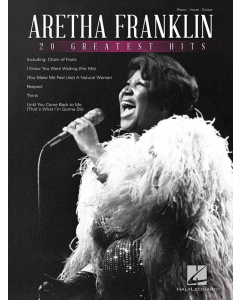 Aretha Franklin: 20 Greatest Hits (Piano, Vocal, Guitar)