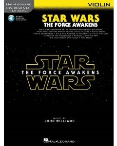 Instrumental Play-Along: Star Wars - The Force Awakens (Violin incl. Online Audio)