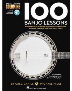 100 Banjo Lessons (incl. Online Audio)