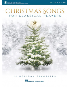 Christmas Songs for Classical Players - incl. Online Audio (Cello)