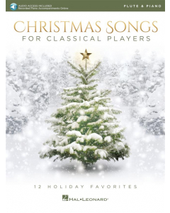 Christmas Songs for Classical Players - incl. Online Audio (Flute)