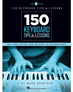 150 Keyboard Tips & Lessons (incl. Online Audio)