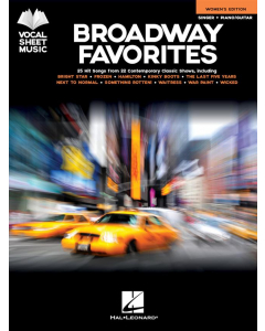 Broadway Favorites - Womens's Edition (Vocal, Piano/Guitar)