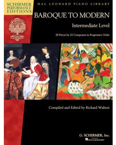 Baroque to Modern - Intermediate Level (Piano)