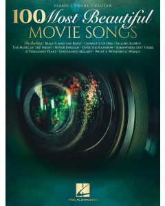 100 Most Beautiful Movie Songs (Piano, Vocal, Guitar)