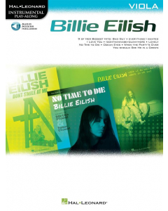 Billie Eilish for Viola - Instrumental Play-Along (incl. Online Audio)