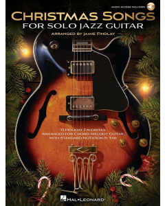 Christmas Songs for Solo Jazz Guitar