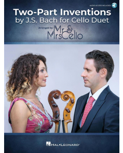 Two Part Inventions by J.S. Bach for Cello Duet - arr. Mr. & Mrs. Cello