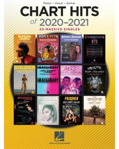 Chart Hits of 2020-2021 (Piano, Vocal, Guitar)