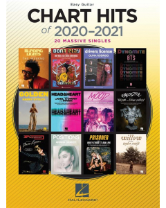 Chart Hits of 2020-2021 (Easy Guitar)