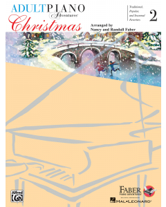 Adult Piano Adventures - Christmas, Book 2