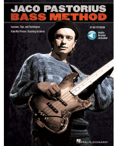 Jaco Pastorius Bass Method - by Ray Peterson (incl. Online Audio)