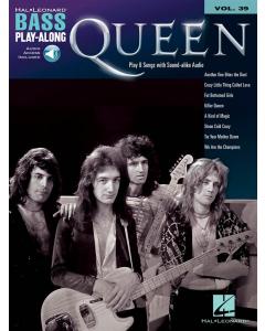 Bass Play-Along Volume 39: Queen