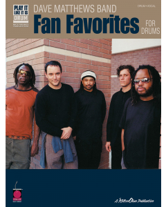 Dave Matthews Band - Fan Favorites for Drums (Drum, Vocal)