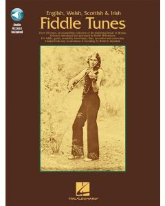 English, Welsh, Scottish and Irish Fiddle Tunes (incl. Online Audio)