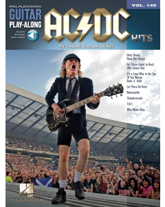 Guitar Play-Along Volume 149: AC/DC Hits (incl. Online Audio)