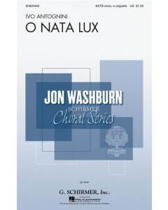 Antognini, Ivo: O Nata Lux (SATB div a cappella)
