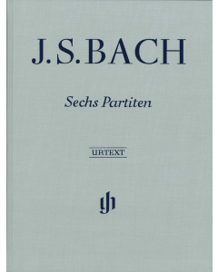 Bach Sechs Partiten Clothbound Front Page