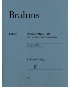 Brahms, Johannes: Sonaten op. 120 (Clarinet and Piano)