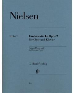 Nielsen, Carl: Fantasiestücke / Fantasy Pieces / Fantasistykker, op. 2 (Oboe, Piano)