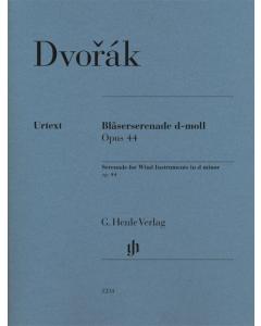 Dvorák: Bläserserenade d-moll, op. 44 (Set of Parts)