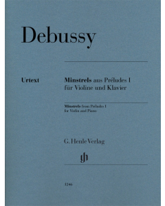Debussy: Minstrels from Préludes I (Violin and Piano)