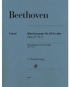 Beethoven: Klaviersonate Nr. 13 Es-dur, op. 27 Nr. 1