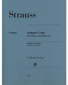 Strauss, Richard: Andante C-dur (Horn, Piano)