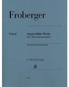 Froberger Selected Works for Keyboard Henle Urtext