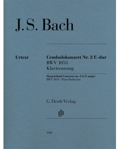Bach, J. S.: Cembalokonzert Nr. 2 E-dur BWV 1053