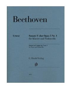 Beethoven: Sonate F-dur, op. 5 nr. 1 (Violoncello, Piano)