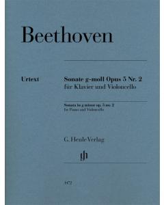 Beethoven: Sonate g-moll, op. 5 nr. 2 (Violoncello, Piano)