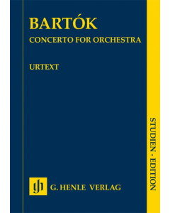 Bartók: Concerto for orchestra (Study Score)