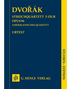 Dvorak: Streichquartett F-dur / String Quartet F major, op. 96 (American Quartet) (Study Score)