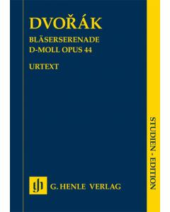 Dvorák: Bläserserenade d-moll, op. 44 (Study Score)