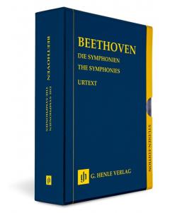 Beethoven: Die Symphonien / The Symphonies (9 Volumes in a Slipcase) (Study Score)